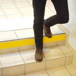 Circulation verticale au sein d'un ERP: accessibilité des escaliers
