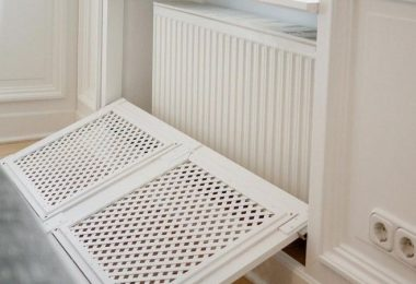 Cache radiateur DIY